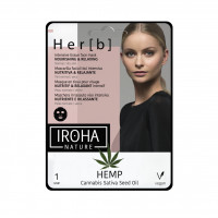 Iroha Nature Her[b] Cannabis Fátyolmaszk